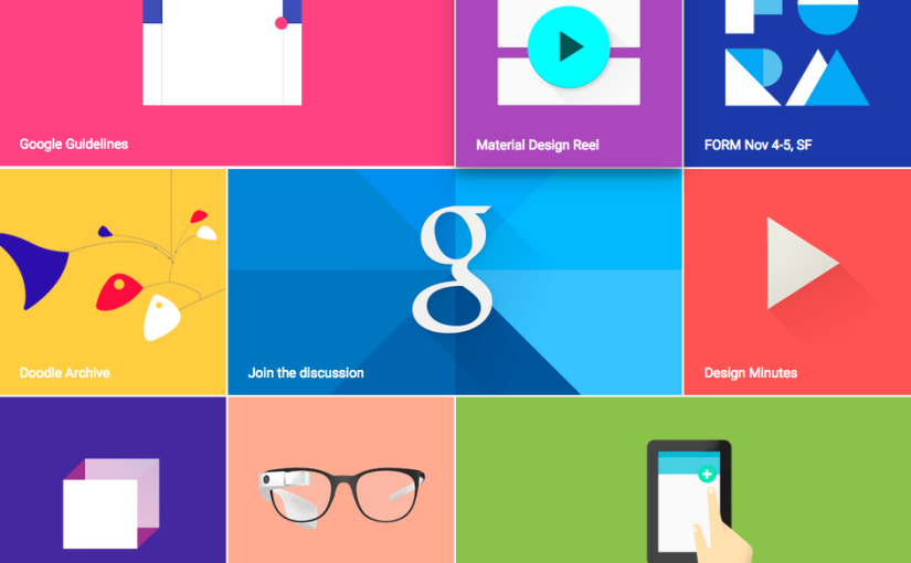 Mobile first, material design, contenus et design : 7 tips d'une DA votre site en 2015